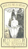EX LIBRIS CARL BERKHAN (odkaz v elektronickém katalogu)