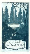 Ex libris A. DALMAU (odkaz v elektronickém katalogu)