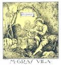 EX LIBRIS M. GRAS VILA (odkaz v elektronickém katalogu)