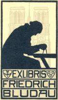 EXLIBRIS FRIEDRICH BLUDAU (odkaz v elektronickém katalogu)
