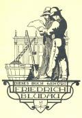 DIESES BUCH GEHÖRT FRIEDRICH BLUDAU (odkaz v elektronickém katalogu)