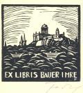 EX LIBRIS BAUER IMRE (odkaz v elektronickém katalogu)