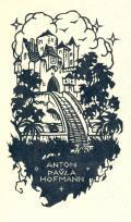 ANTON u PAULA HOFMANN (odkaz v elektronickém katalogu)