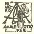 EXLIBRIS Annie u OTTO FEiL (odkaz v elektronickém katalogu)