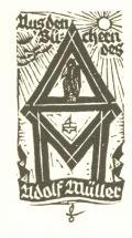 Aus den Büchern des Adolf Müller (odkaz v elektronickém katalogu)