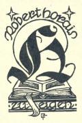Robert Horais zu eigen (odkaz v elektronickém katalogu)