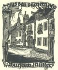 Mus den Büchern des Wilhelm Müller (odkaz v elektronickém katalogu)