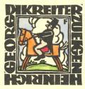 HEINRICH GEORG DIKREITER ZUEGEN (odkaz v elektronickém katalogu)