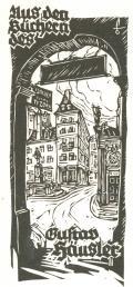Aus den Büchern des Gustav Häusler (odkaz v elektronickém katalogu)