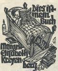 Dies ist mein Buch Margrit Elisabeth Kreyenberg (odkaz v elektronickém katalogu)