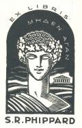 EX LIBRIS S.R.PHIPPARD (odkaz v elektronickém katalogu)