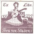 Ex libris Thea von Staden (odkaz v elektronickém katalogu)