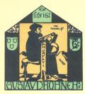 Exlibris GUSTAV DROBNER (odkaz v elektronickém katalogu)