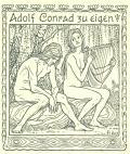 Adolf Conrad zu eigen (odkaz v elektronickém katalogu)