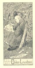 ExLibris Oskar Lepuschner (odkaz v elektronickém katalogu)
