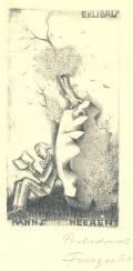 EXLIBRIS HANNS HEEREN (odkaz v elektronickém katalogu)