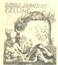 BAYROS SAMMLUNG GELLING EX LIBRIS (odkaz v elektronickém katalogu)