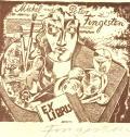 Michel und Peter Fingesten EX LIBRIS (odkaz v elektronickém katalogu)