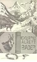 EXLIBRIS ALBERT BADER (odkaz v elektronickém katalogu)