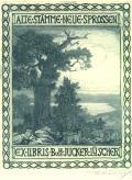 EX-LIBRIS BuH JUCKER-LÜSCHER (odkaz v elektronickém katalogu)