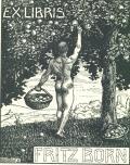 EX LIBRIS FRITZ BORN (odkaz v elektronickém katalogu)