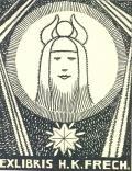 EXLIBRIS H.K. FRECH (odkaz v elektronickém katalogu)