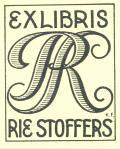 EX LIBRIS RIE STOFFERS (odkaz v elektronickém katalogu)