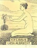EX-LIBRIS LIESA ALBRECHT (odkaz v elektronickém katalogu)