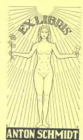 EXLIBRIS ANTON SCHMIDT (odkaz v elektronickém katalogu)