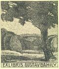 EXLIBRIS GUSTAV BAHILY (odkaz v elektronickém katalogu)