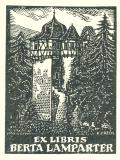 EX LIBRIS BERTA LAMPARTER (odkaz v elektronickém katalogu)