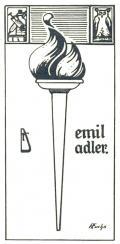 emil adler (odkaz v elektronickém katalogu)