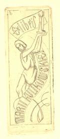 Ex libris MARII KULIKOWSKIEJ (odkaz v elektronickém katalogu)