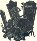 Ex libris Kossowskiej Marii (odkaz v elektronickém katalogu)