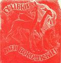 EXLIBRIS ZOFII BOROWICKIEJ (odkaz v elektronickém katalogu)