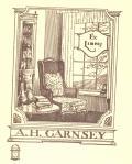 Ex libris A.H. GARNSEY (odkaz v elektronickém katalogu)