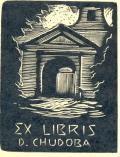 EX LIBRIS D. CHUDOBA (odkaz v elektronickém katalogu)