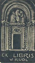 EX LIBRIS V.RUDL (odkaz v elektronickém katalogu)