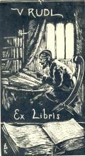 V. RUDL Ex Libris (odkaz v elektronickém katalogu)