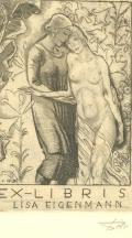 EX-LIBRIS LISA EIGENMANN (odkaz v elektronickém katalogu)