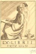 EX-LIBRIS FRITZ GILSI (odkaz v elektronickém katalogu)