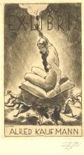 EX-LIBRIS ALFRED KAUFMANN (odkaz v elektronickém katalogu)