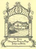 Ex Libris Wenzeslaus Graf von Deym Freiherr von Střítěž (odkaz v elektronickém katalogu)
