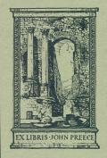 EX LIBRIS JOHN PREECE (odkaz v elektronickém katalogu)