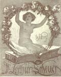 Ex libris Dr. Arthur Scheuer (odkaz v elektronickém katalogu)