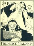 EX LIBRIS FREDERICK MALCOM (odkaz v elektronickém katalogu)
