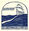 EX LIBRIS MANUEL A. ORTIZ (odkaz v elektronickém katalogu)