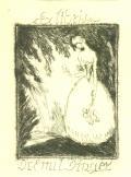 Ex Libris Dr. Emil Dinger (odkaz v elektronickém katalogu)
