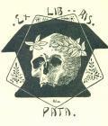 EX LIB RIS PÁTA (odkaz v elektronickém katalogu)