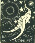 EX LIBRIS PAUL KÖHLER (odkaz v elektronickém katalogu)